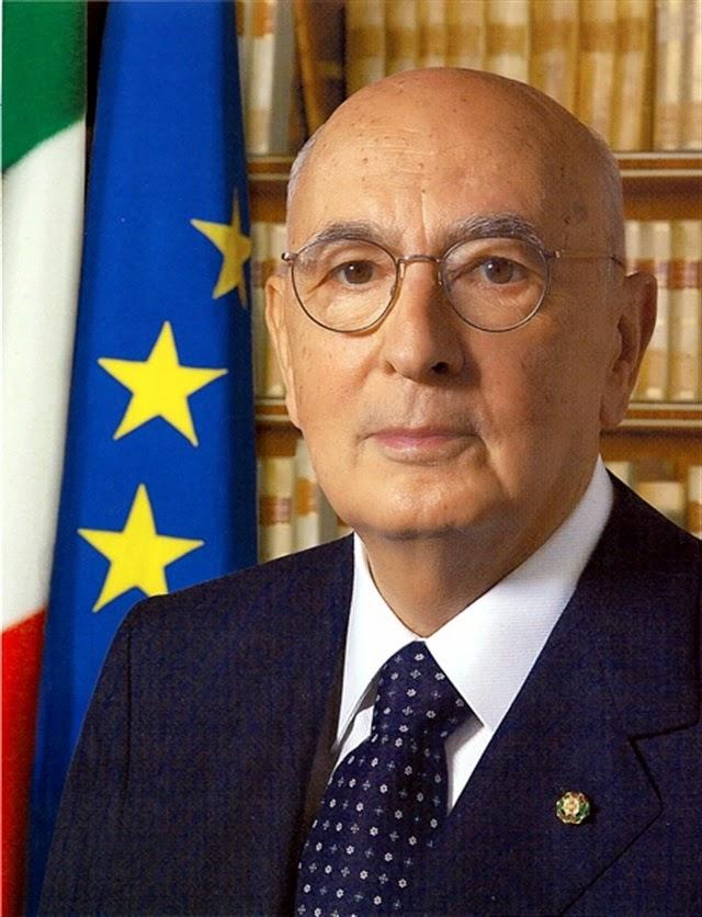 Foto Ufficiale del Presidente della Repubblica Italiana Giorgio Napolitano