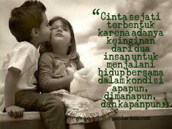kata cinta sejati