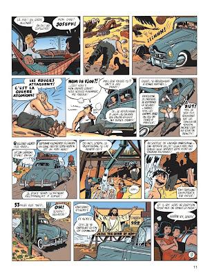 Gringos Locos: Franquin, Morris y Jijé en America, por Yann y Schwartz (PREVIEW Y COMENTARIOS) Adelantos%2Bgringos%2B07