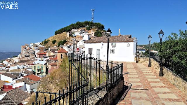 Lugar donde se levantaba el castillo de Chiclana de Segura