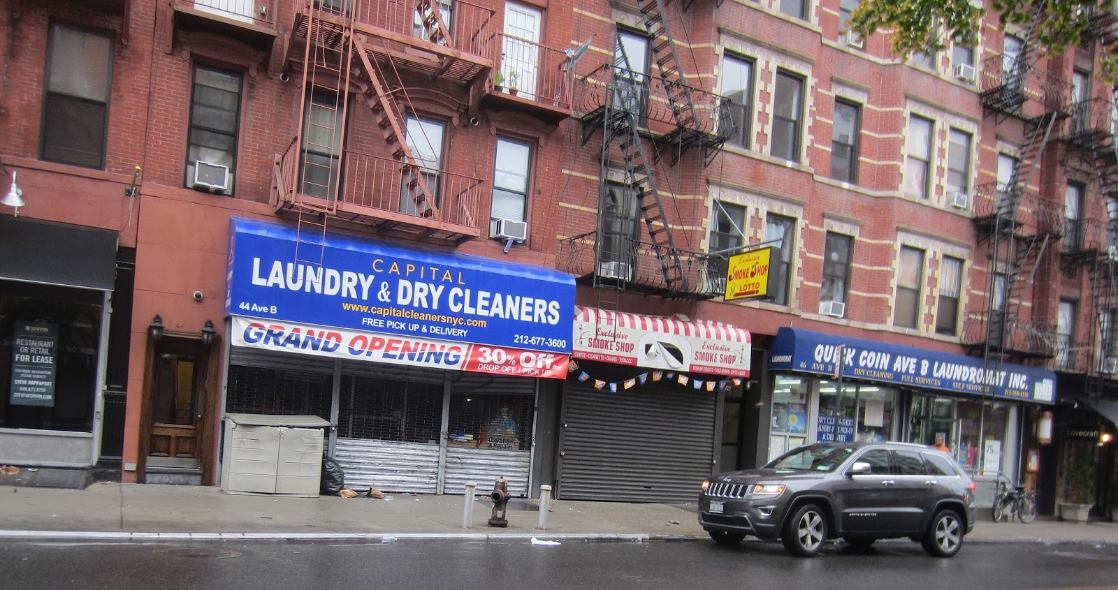 Ev Grieve Despite Grand Opening Banner Capital Laundry
