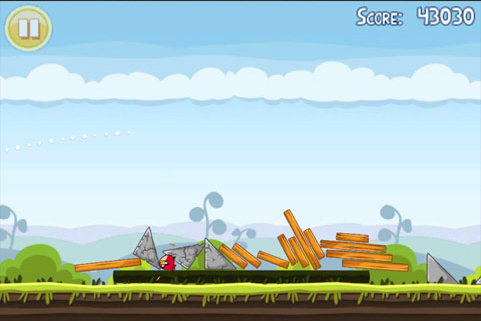 Angry Birds 4-1 Mighty Hoax