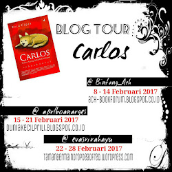 [Blog Tour] Carlos by Erin Cipta