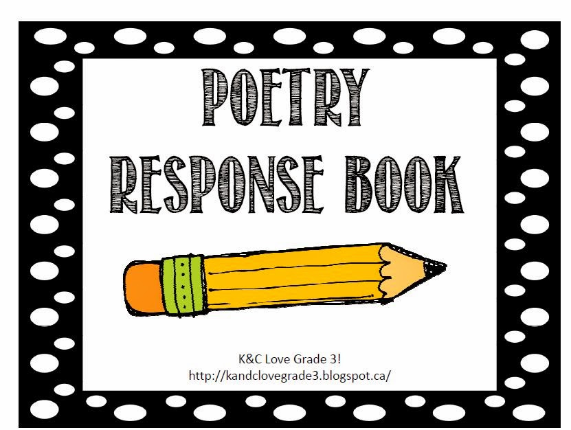 http://www.teacherspayteachers.com/Product/Poetry-Response-Book-622510