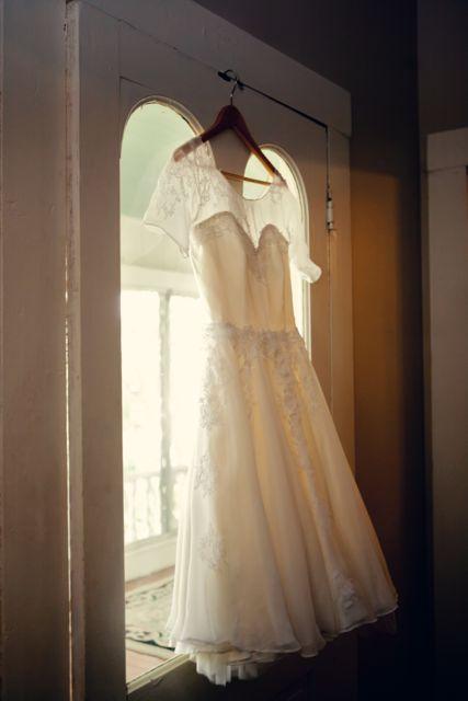 custom rachelle briton wedding dress