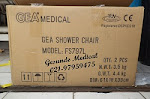 Packing Kardus Shower Chair FS797L Isi 2 Pcs