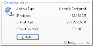 Cara Merubah IP address dan DNS servers melalui Command Prompt