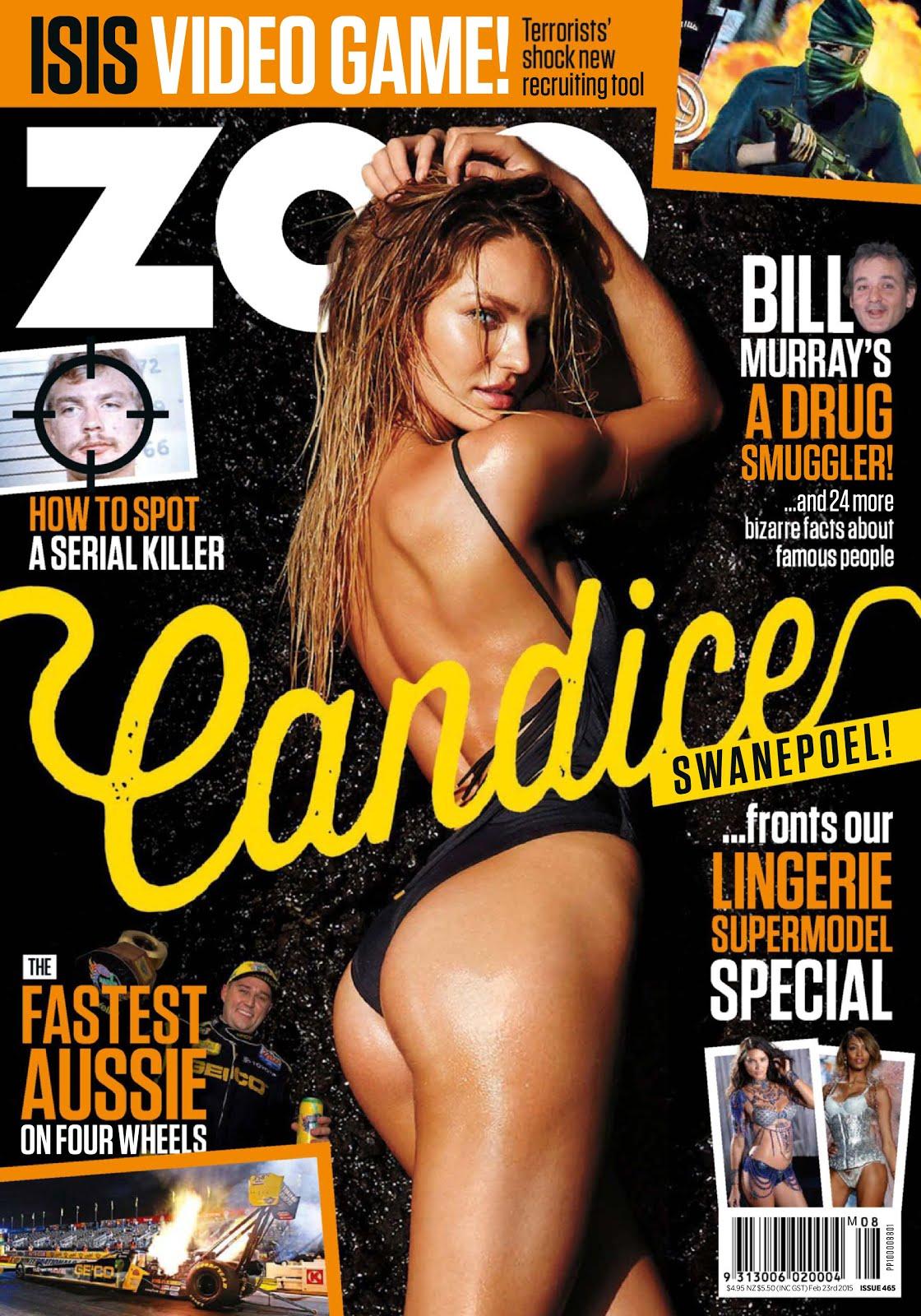 Candice Swanepoel en ZOO