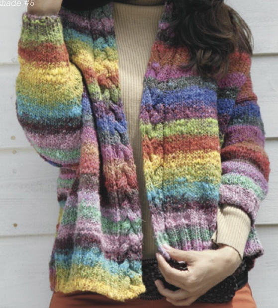 Knitting Pattern For Noro Wool : A Really Good Yarn: New Noro