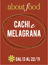 About Food: cachi e melagrana