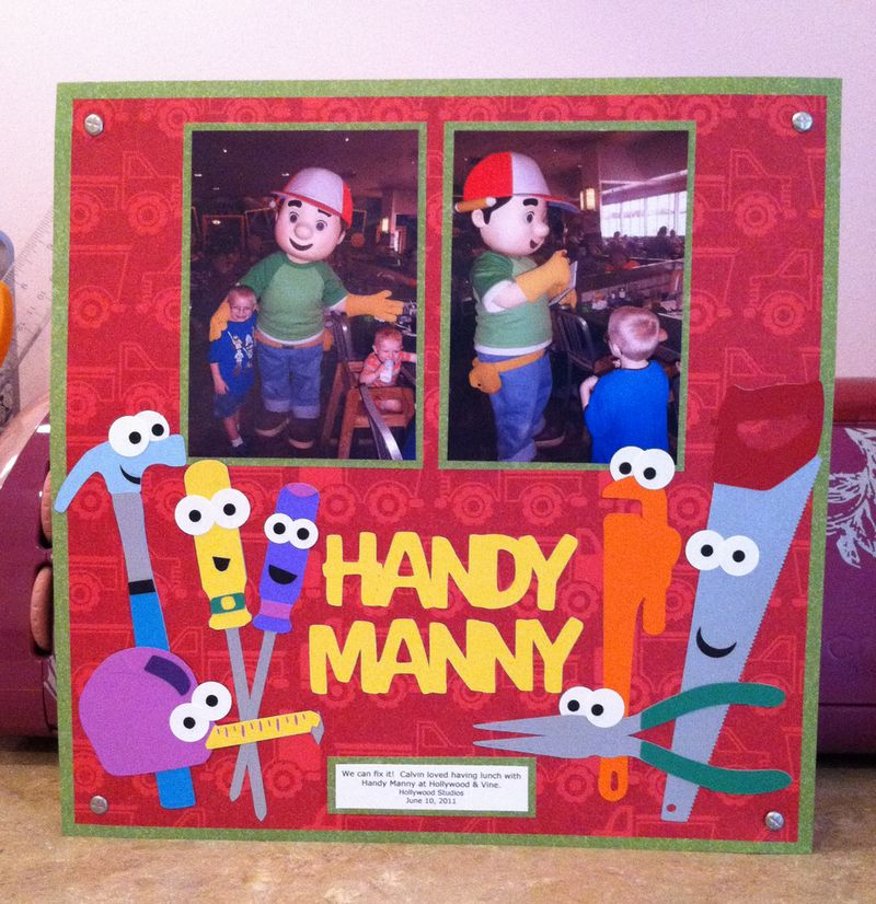 Handy Manny Layout