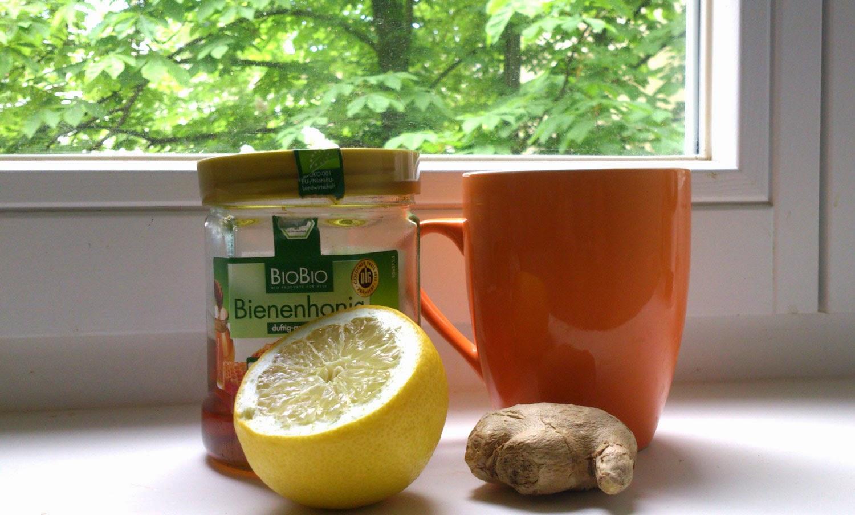 Flunssankarkoittajajuoma: sitruunaa ja inkivääriä