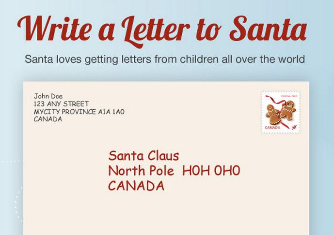 all mail should include a return address and be sure to mail your letter several weeks before christmas to allow enough time for a reply