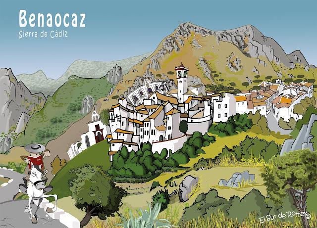 """<img src=""""Benaocaz.jpg"""" alt=""""Pueblos de la sierra en dibujo""""/>"""