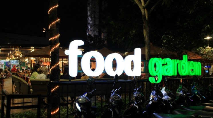 Food garden kemang peta