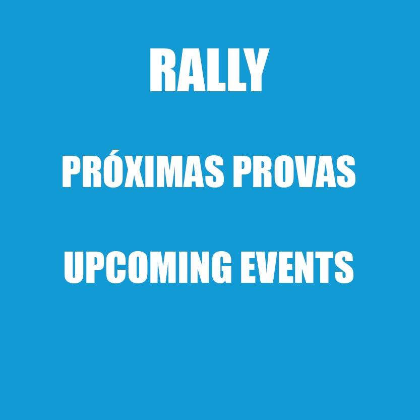RALLY | PRÓXIMAS PROVAS