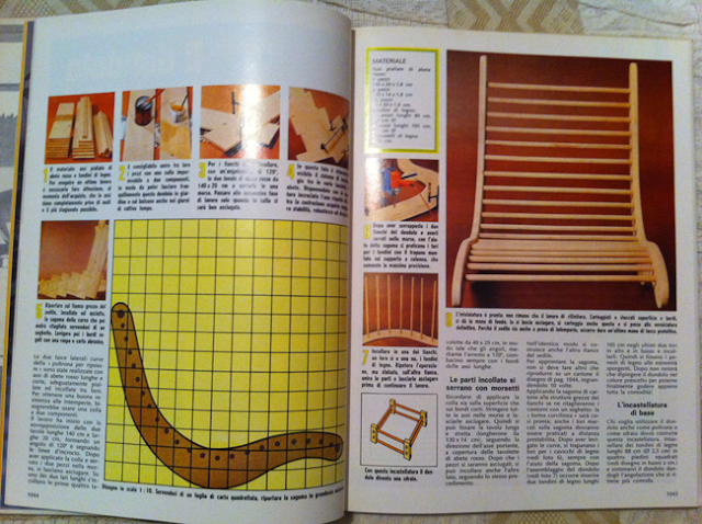 Parole santels sedie fai da te anni 39 80 se ti riesce farle for Costruire una sauna