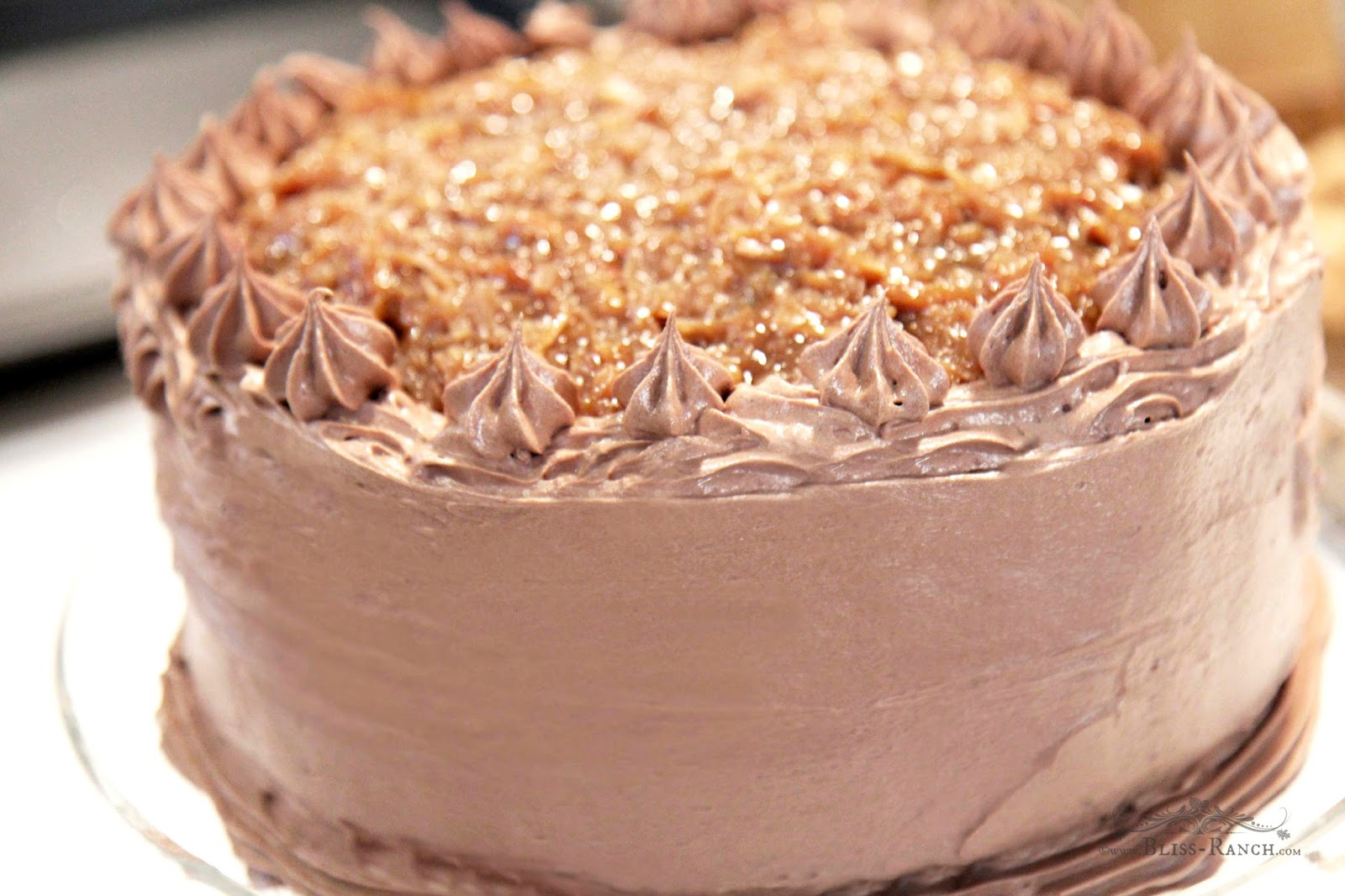 German Chocolate Cake Bliss-ranch.com