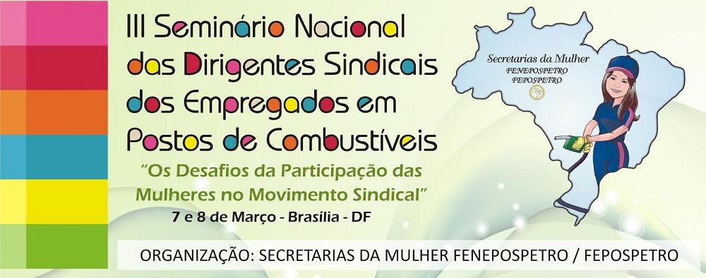 7 a 8 de março em Brasília
