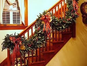 Decoración Navideña, Escaleras, parte 2