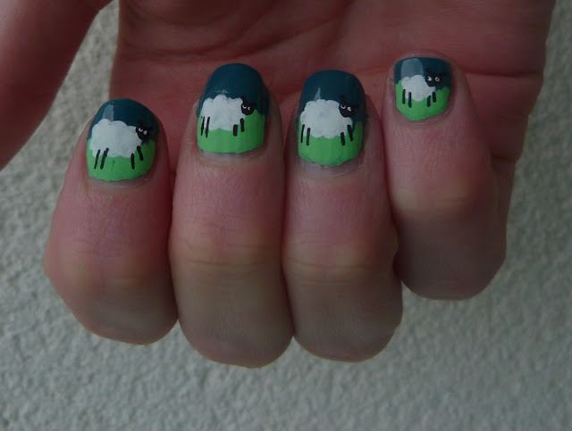moutons ongles