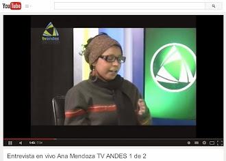 Aqui les dejo la Entrevista en vivo por Tv Andes, Ciudad Valera el dia 8 de Agosto de 2014