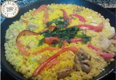 paella valenciana, paella de carne, paella alicantina