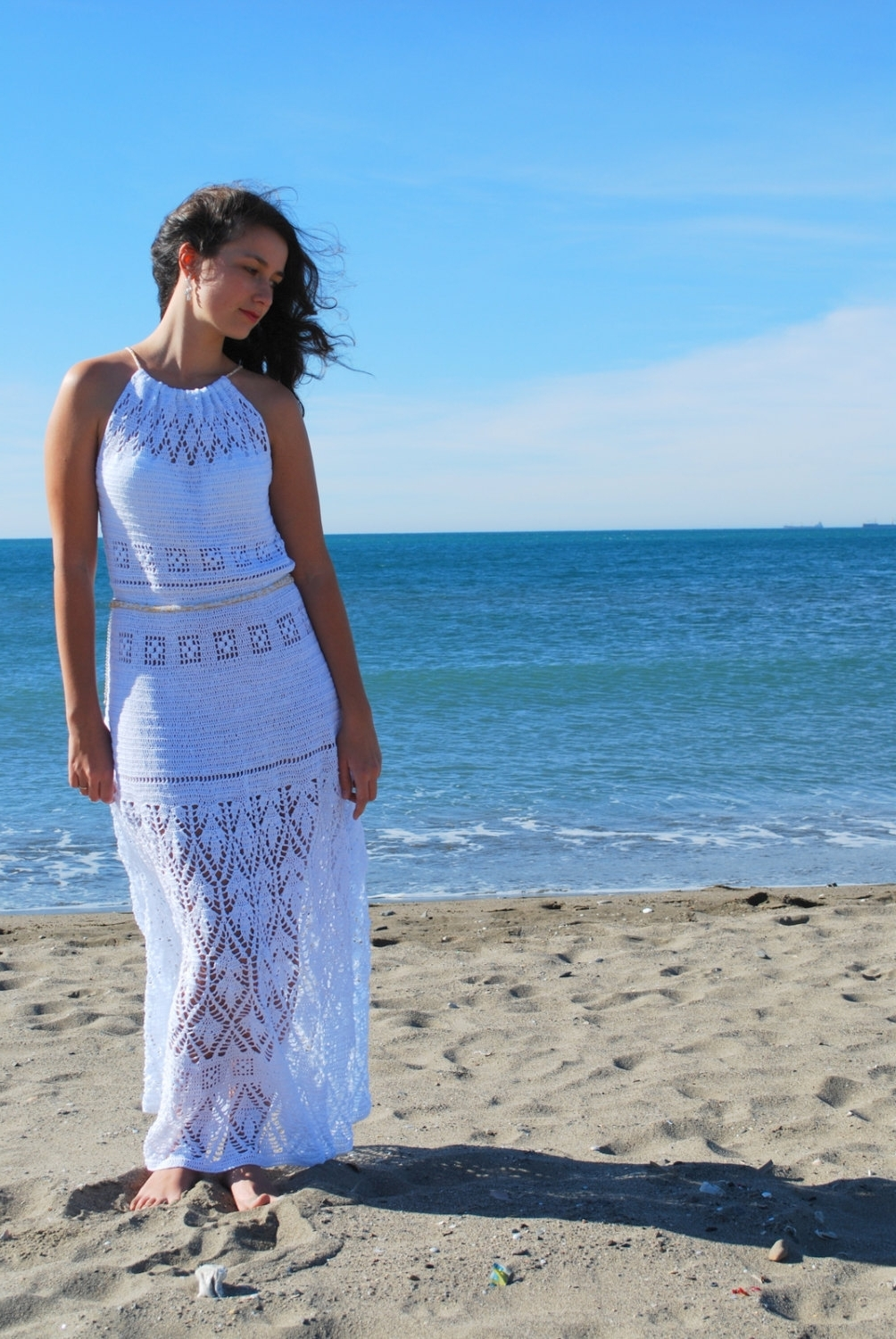 wedding dresses cold climates: Casual Beach Wedding Dresses