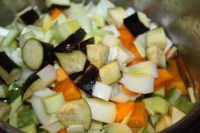 ricetta minestrone melanzane