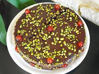 Gâteau chocolat pistaches
