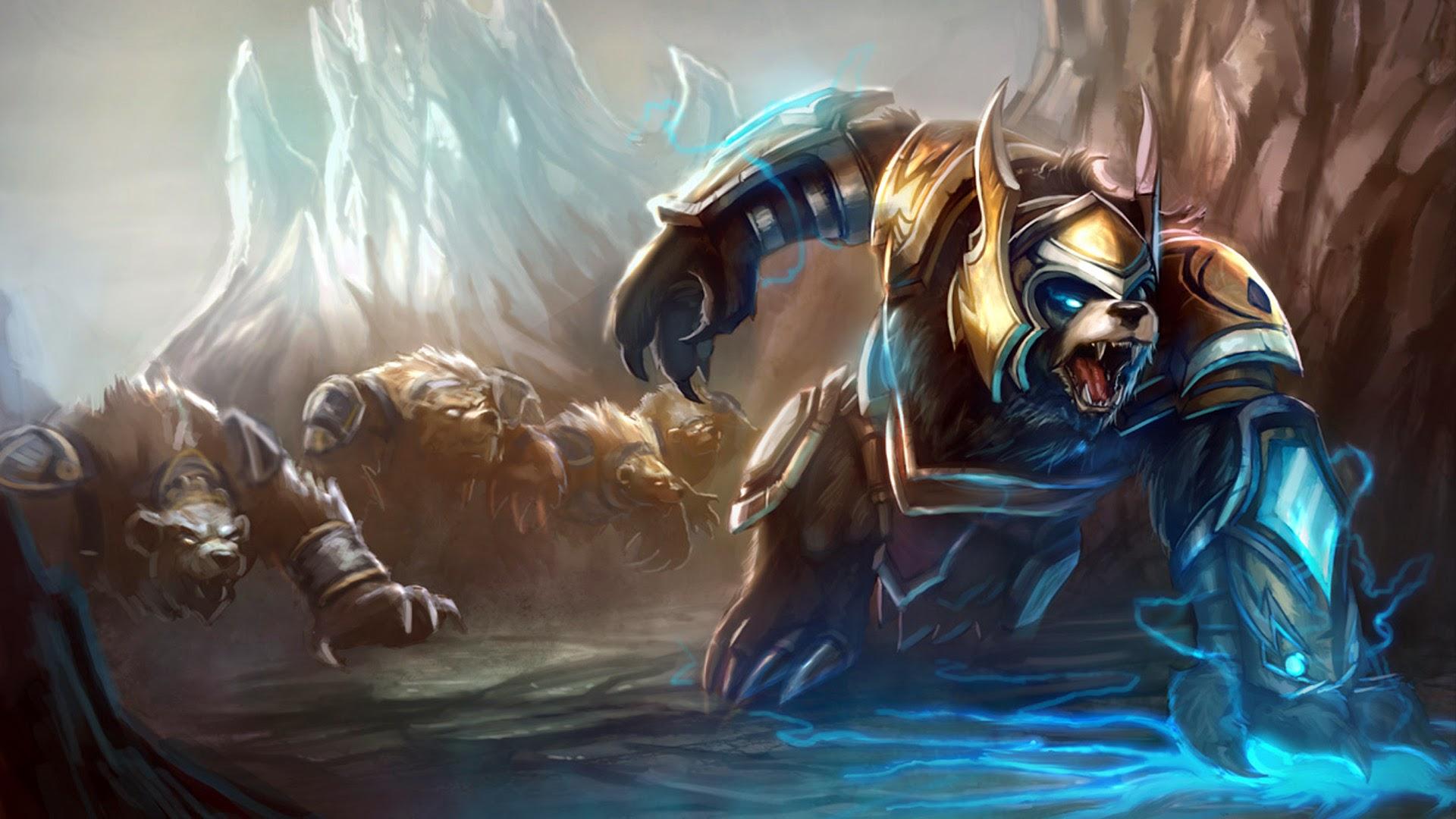 Lol Bear Volibear Thunder Lord ...
