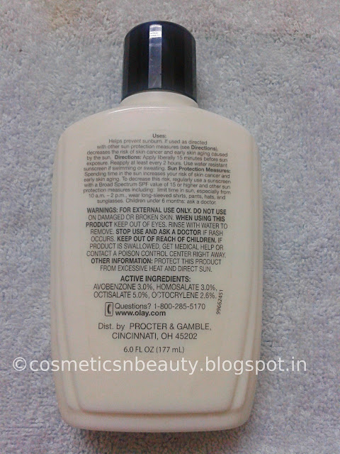 Olay Complete All Day Moisturizer with Sunscreen for Combination | Oily Skin Review