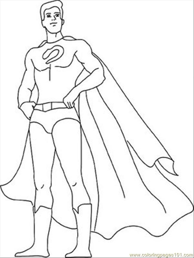 Marvel Coloring Pages Superhero ColoringPedia