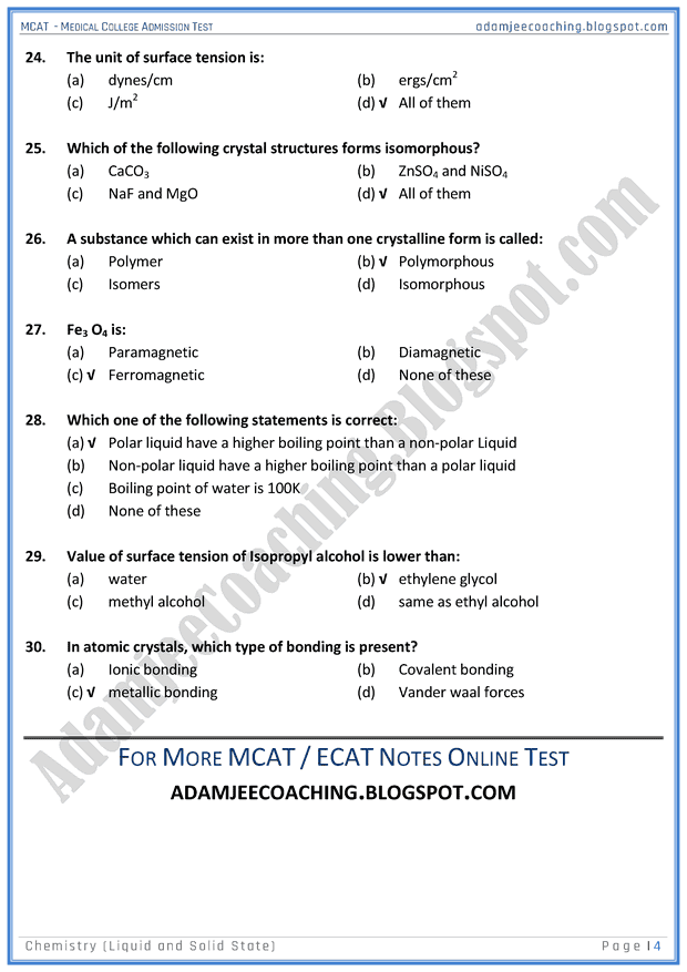 mcat-chemistry-liquid-and-solid-state-mcqs-for-medical-entry-test
