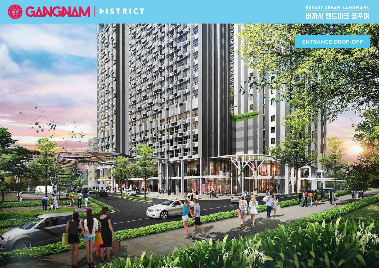 Apartemen Gangnam District di Kemang Bekasi