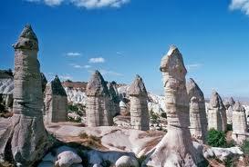 Chimenas naturales en la Capadocia - Turquía - que visitar