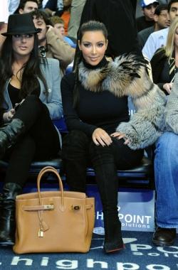 Kardashian Bags on Kim Kardashian And Her Hermes Birkin Bag