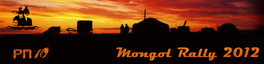 PM10 - Mongol Rally 2012
