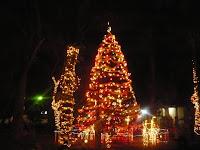 arbol navideño en Olanchito