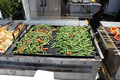 green beans at the fair