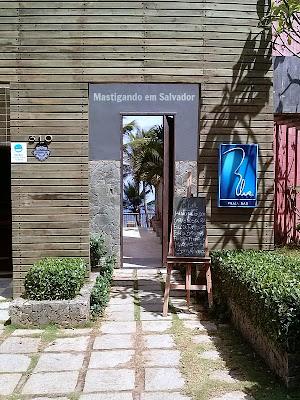 Blue Praia Bar: Fachada
