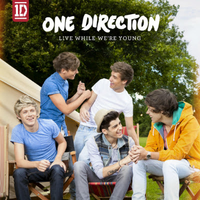 one direction live while we are young cover