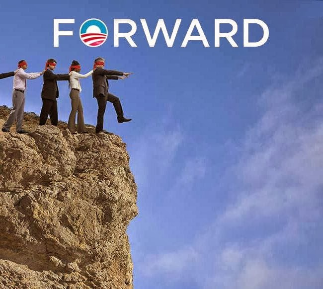 Canadians' trust in government at highest point in 17 ... Obama Lemmings Jumping Off A Cliff