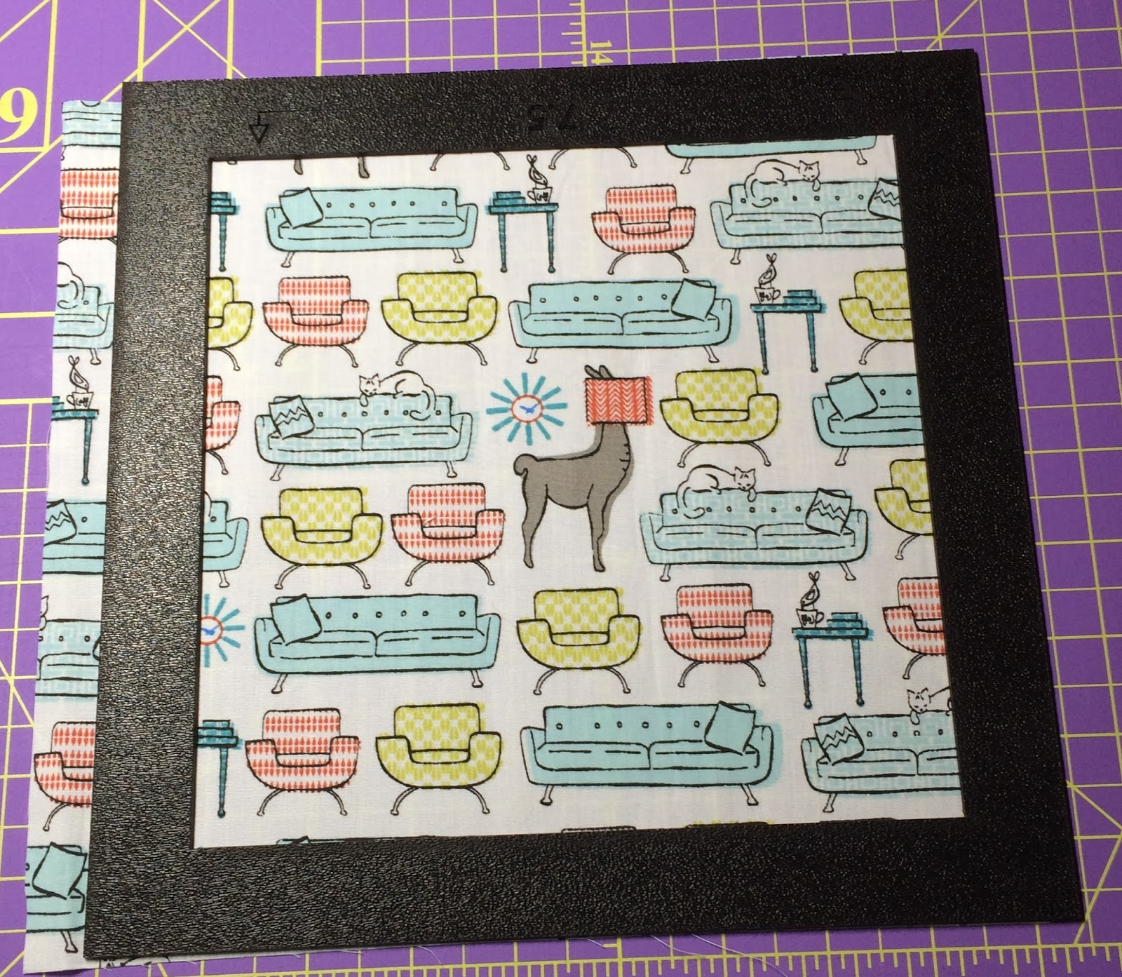Martelli Quilting Templates : Gotcha Covered Quilting: Llama Love