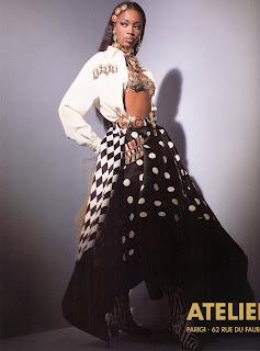 bbnaomicampbell199203vejg2 Beauty Flashback | Naomi Campbell for Versace Atelier