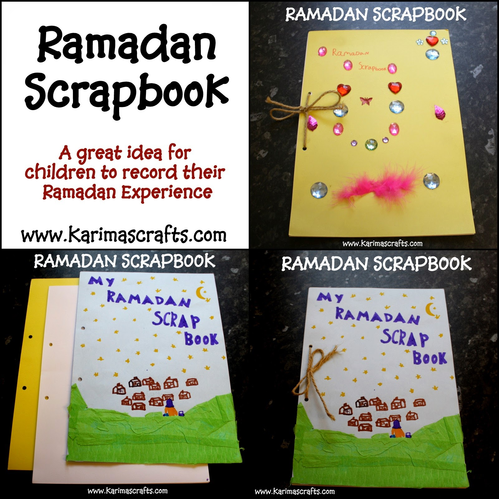 How to delete scrapbook photos google+ - 2 Pieces Of Card For The Front And Back 30 Pieces Of Plain Paper Or 15 Pieces To Use Double Sided A Piece Of String A Hole Punch