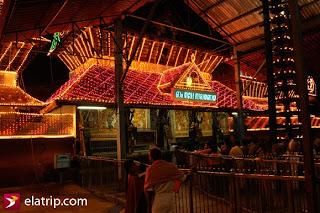 Entrance of Guruvayoor temple