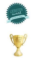 Liebster Award & Versatile Blogger Award...