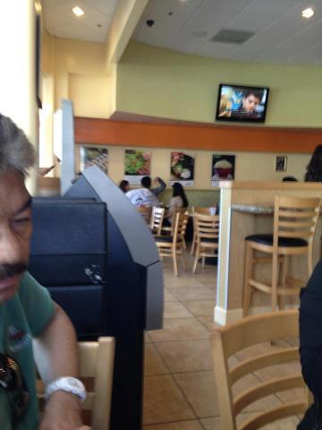 Kim Chiu and Xian Lim having breakfast at San Sai Restaurant, Los