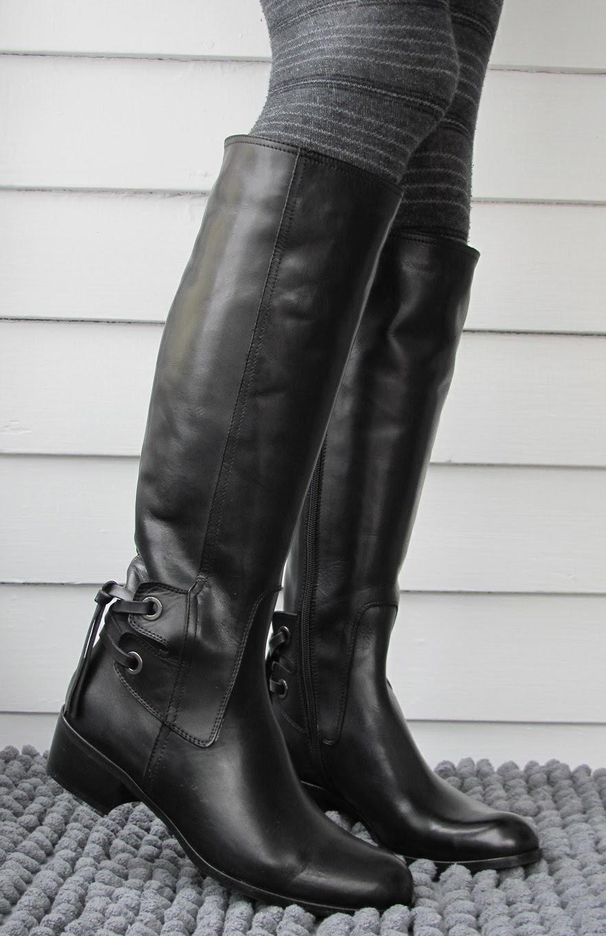 Howdy Slim! Riding Boots for Thin Calves: Sesto Meucci Boyle
